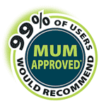 Mum Approved logo