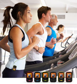 SanDisk Clip Sport MP3 Player. Gym
