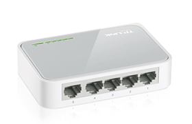 Expand your wired network with the TL-SF1005D