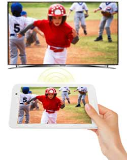 ASUS MeMO Pad 8 Tablet. Seamless video streaming
