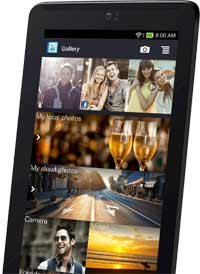 ASUS Fonepad 7 Tablet Social Media