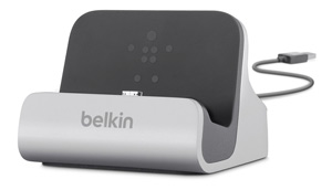 Belkin Charge + Sync Dock for Samsung Galaxy S4 Product Shot