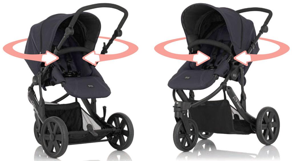 Britax B Smart 3 Neon Black Amazon Co Uk Baby