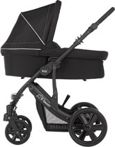 B-Smart with added carrycot