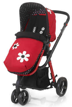 Giggle Travel System in Bizzy Betty
