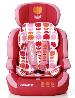 Zoomi car seat in Bloom