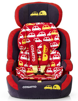 Zoomi car seat in Vroom