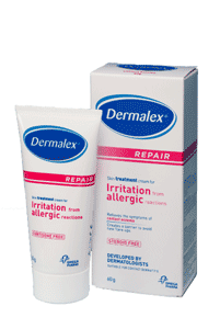 Dermalex Irritation from Allergic Reactions