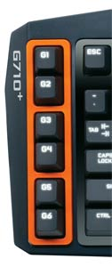 Mechanical Gaming Keyboard G710+