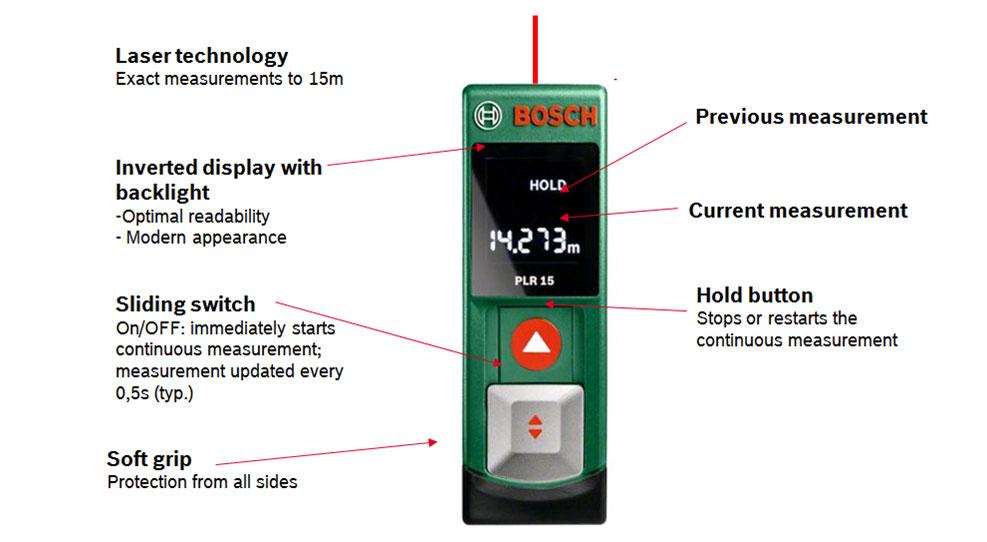 Bosch plr15