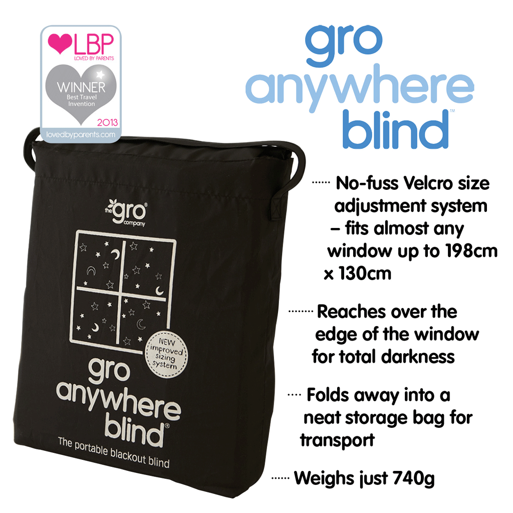 Gro Anywhere Blackout Blind Amazon Co Uk Baby