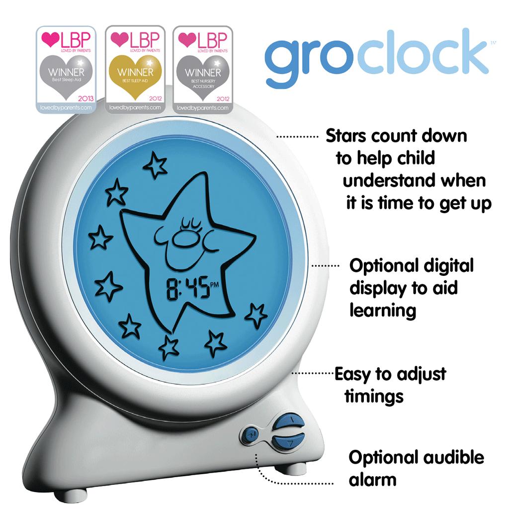 Gro Clock Sleep Trainer Amazoncouk Baby