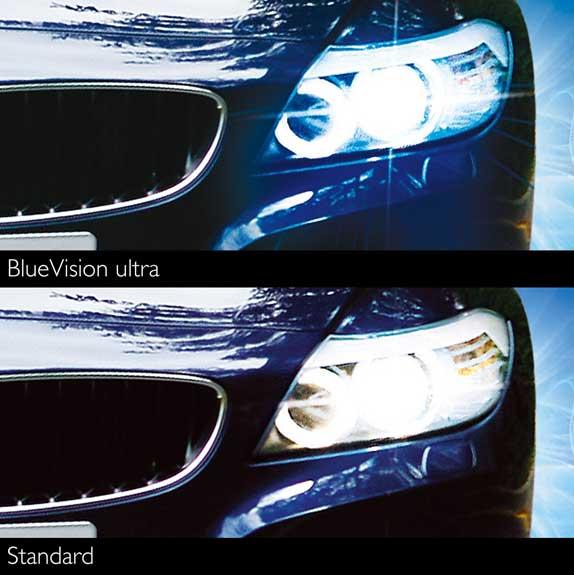 philips 0730220 12972 bvusm h7 blue vision 100 headlight. Black Bedroom Furniture Sets. Home Design Ideas