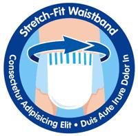 stretch fit waistband