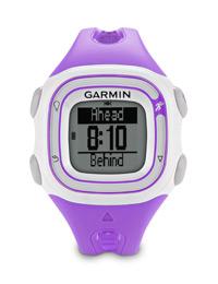 Garmin Forerunner 10 violet: Keep on target