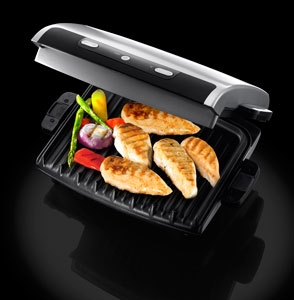 George foreman 12205 entertaining non stick removable - Largest george foreman grill with removable plates ...