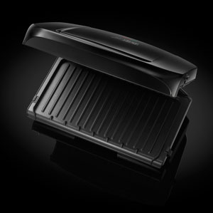 George foreman 20840 five portion family grill with removable plates ebay - Grill with removable plates ...