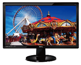 BenQ GL2460 24-inch Widescreen LED Multimedia Monitor