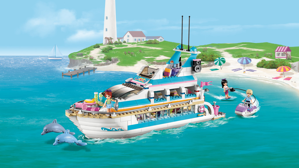 Lego Friends Dolphin Cruiser 41015 Brand New Sealed  EBay