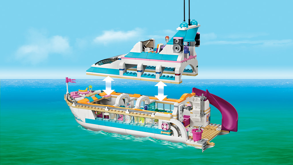Pin Lego Set 41015 1 Dolphin Cruiser On Pinterest