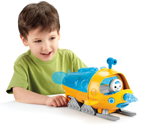 The Gup-S is the Octonauts' ideal vehicle for polar exploration