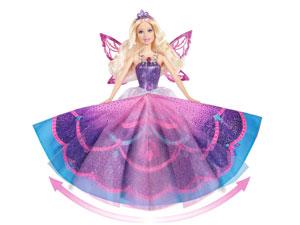 Barbie Catania unfolding wings