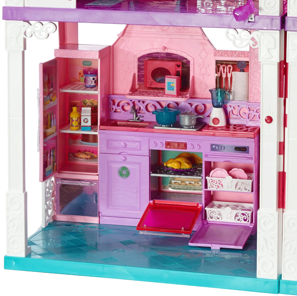 Dream Kitchen Toy: NEW Barbies Dream House Doll Mansion Toy Girl Play