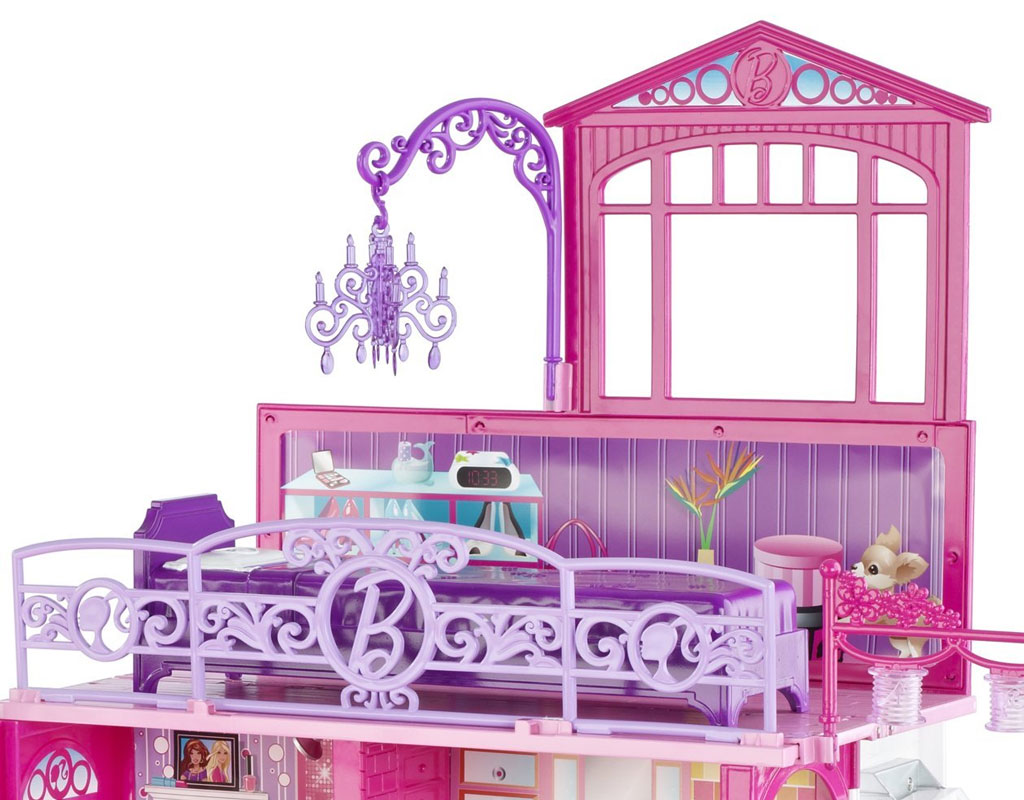 Barbie glam vacation house toys games for Amazon casa