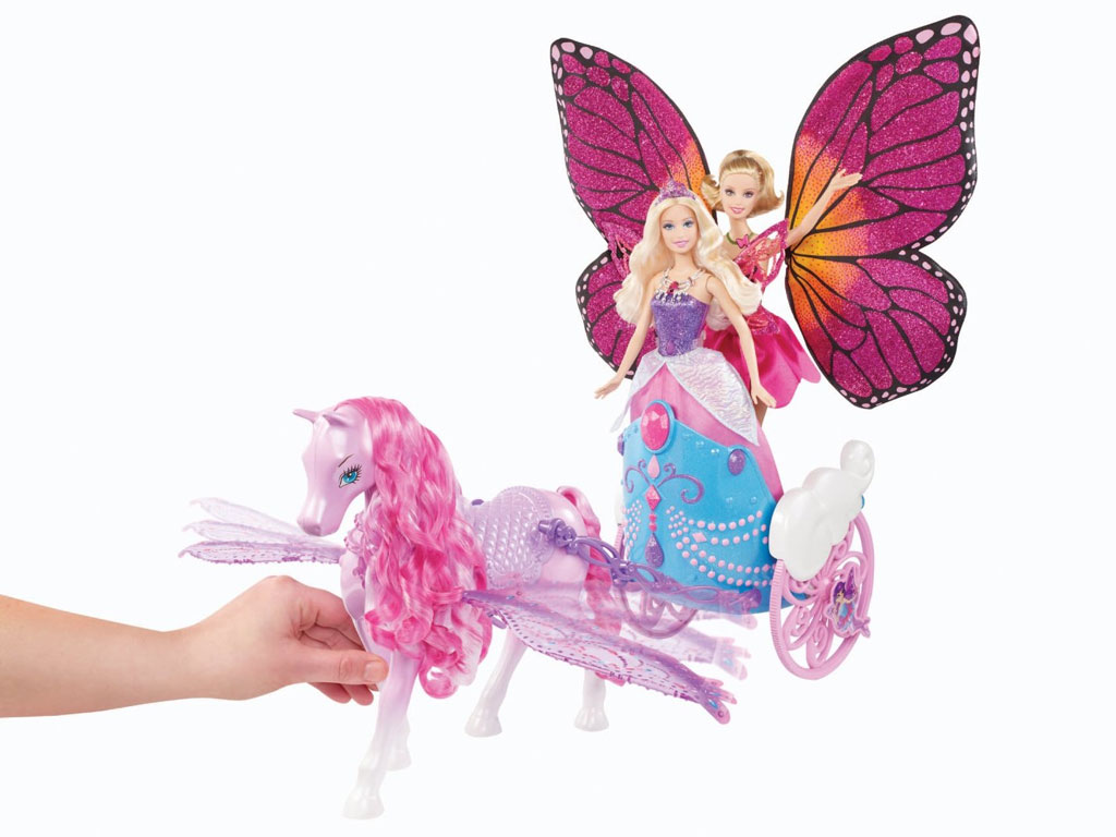 Barbie Mariposa Amp The Fairy Princess Pegasus And Flying Chariot Amazon Co Uk Toys Amp Games