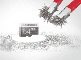 Samsung PRO MicroSDHC Memory Card