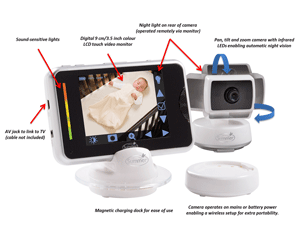 Features of the BabyTouch Plus