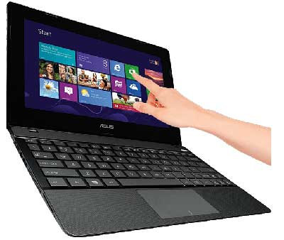 Touchscreen to get the most of Windows 8