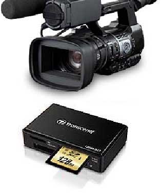 Transcend SDXC UHS-I U3 memory card compatibility