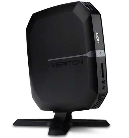 Acer Veriton N4620G. Place it on the back or the monitor