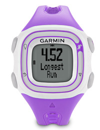 Garmin Forerunner 10 violet: With personal record alerts