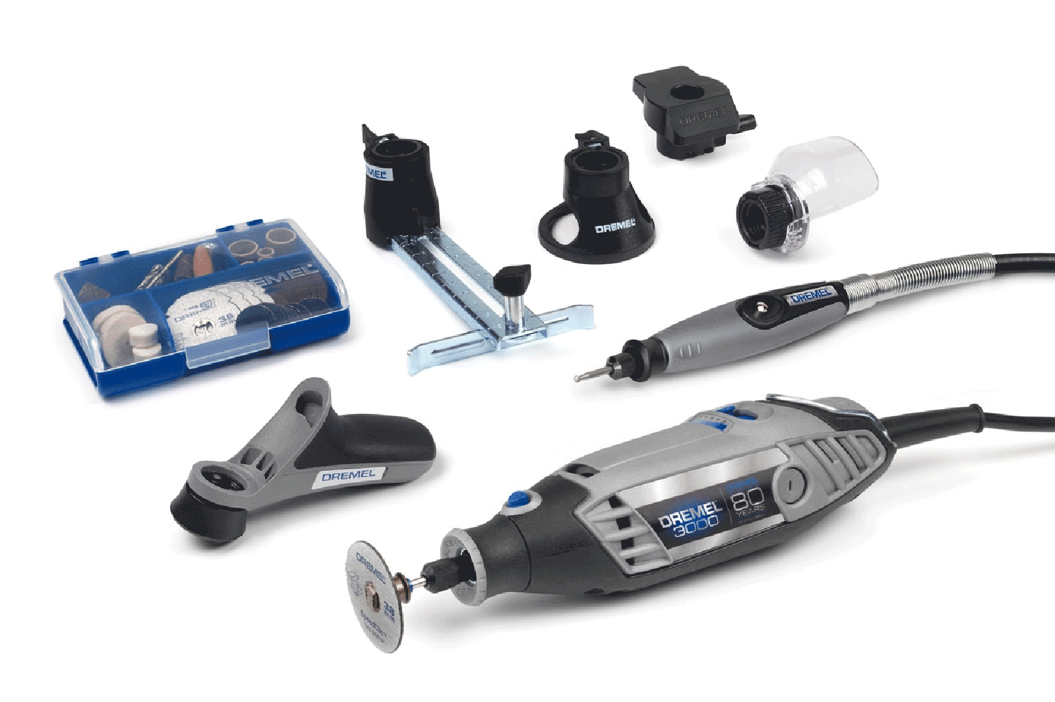 dremel 3000 multi tool 80 year anniversary limited. Black Bedroom Furniture Sets. Home Design Ideas