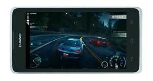 Huawei Y530 perfect for listening or playing on the go