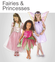Children's Dressing Up: Fairies & Princesses