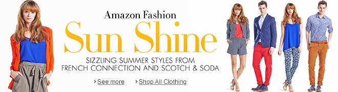 Sizzling Summer Styles from French Connection and Scotch & Soda