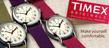 Timex Originals watches
