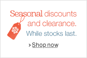 Seasonal Discounts and Clearance