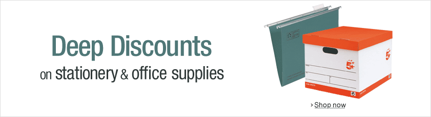 Deep Discounts on office and stationery