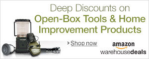 Amazon Warehouse Deals at Amazon.co.uk--deep discounts on used and open-box tools and home improvement products