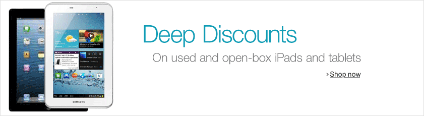 Deep Discounts from Amazon Warehouse Deals
