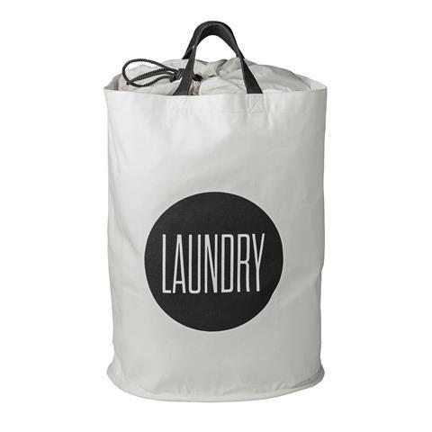 """Bloomingville Wäschekorb """"LAUNDRY"""" weiß"""