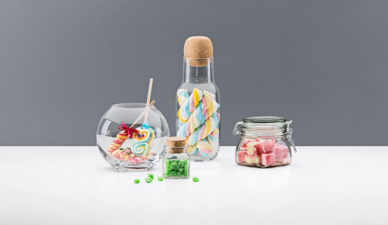 Glasbehälter: Schön & richtig aufbewahren