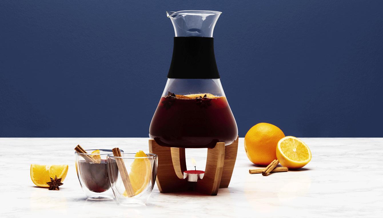 Zubehör für wärmende Getränke