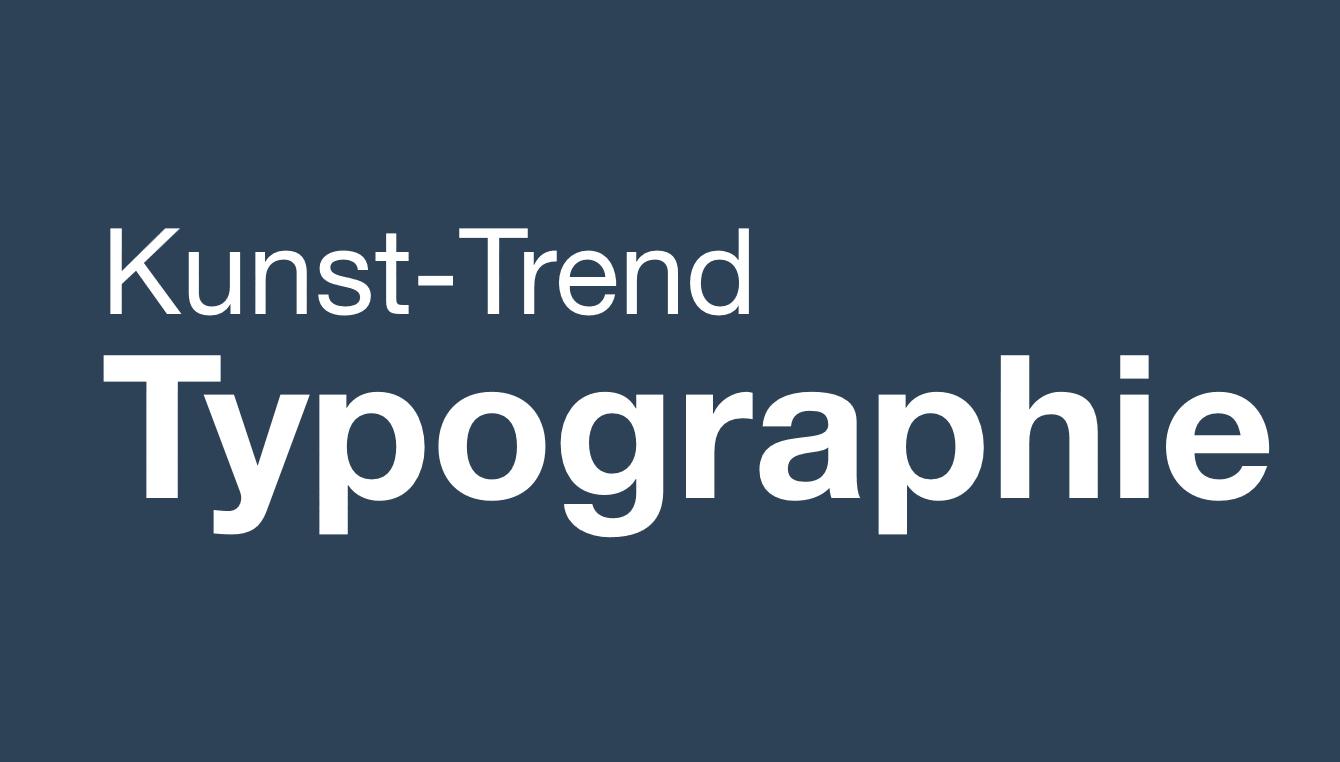 Trend Typographie