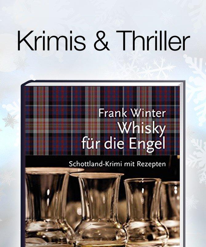 Geschenkideen Weihnachtsbücher Krimis und Thriller