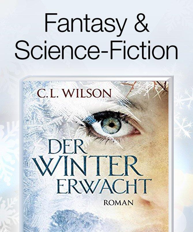 Geschenkideen Weihnachtsbücher Fantasy und Science-Fiction